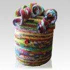 Artful Cotton Cremation Urn