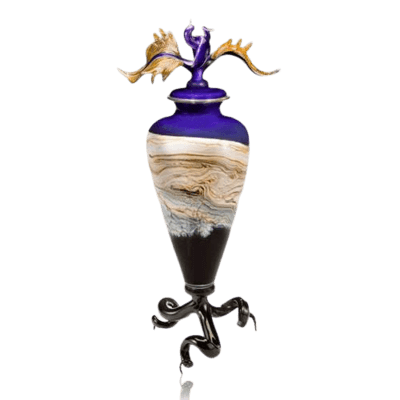Tendril Amethyst Cremation Urn