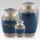 Athens Blue Cremation Urns