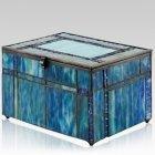 Atlantic Glass Cremation Urn