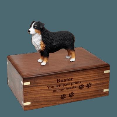 Australian Shepherd Large Doggy Urn