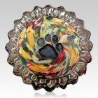 Autumn Swirl Pet Keepsake Urn