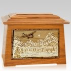 Aviation Mahogany Aristocrat Cremation Urn
