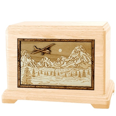 Aviation Maple Hampton Cremation Urn