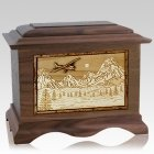 Aviation Wood Cremation Urns