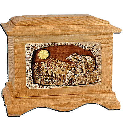 Bears Cremation Urns For Two