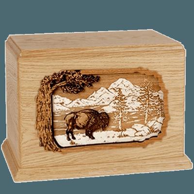 Bison Maple Companion Urn