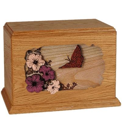 Butterfly Mahogany Companion Urn