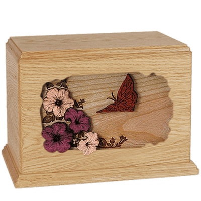 Butterfly Maple Companion Urn