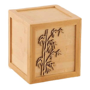 Bamboo Sunset Wood Cremation Urn