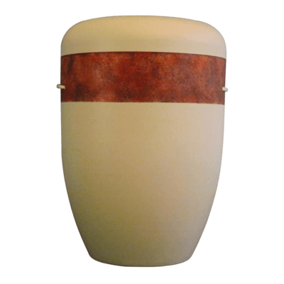 Rustic Band Biodegradable Urn