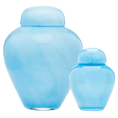 Baronesa Glass Cremation Urns