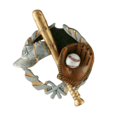 Base Ball Light Cherry Cremation Urn