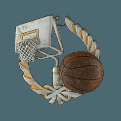 Basket Ball Light Cherry Cremation Urn
