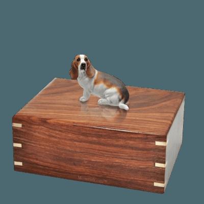 Basset Hound Large Doggy Urn