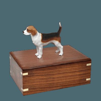 Beagle Standing Medium Doggy Urn