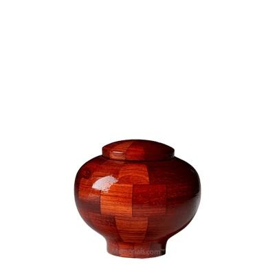 Benton Keepsake Wood Urn