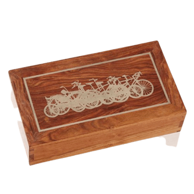 Bicycle Wood Cremation Urns