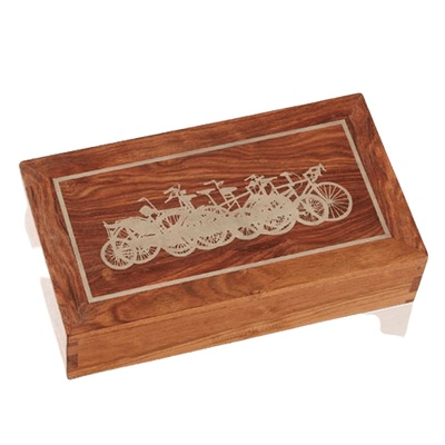 Bicycle Caribbean Memory Box