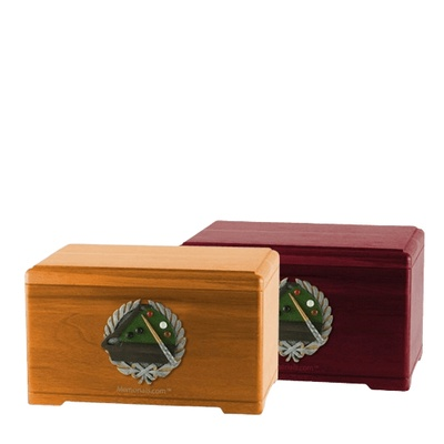 Billiards Cremation Urns