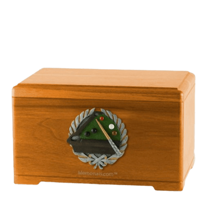 Pool Oak Cremation Urn