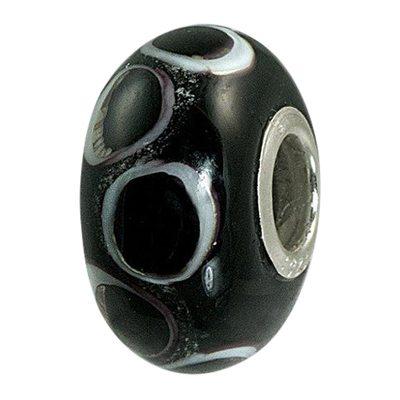 Black Harmony Cremation Ash Bead