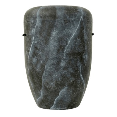 Black Marble Biodegradable Urn