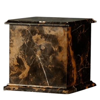 Black Orchid Eternity Marble Cremation Urn