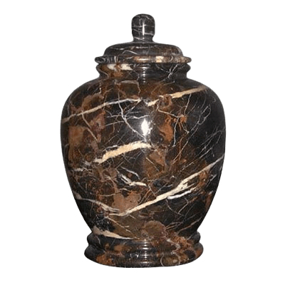 Black Orchid Classic Marble Cremation Urn