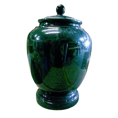 Forest Marble Cremation Urn