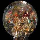 Bliss Ash Glass Weight
