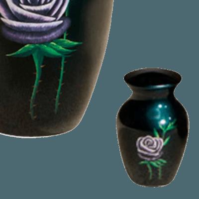 Blooming Rose Keepsake Cremation Urn