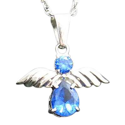 Blue Angel Cremation Jewelry