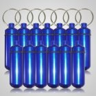 Blue Cremation Discount Keychains