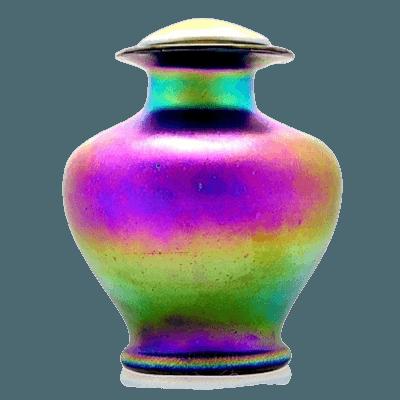 Blush Glass Cremation Urn