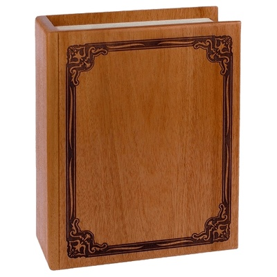 Book Mahogany Cremation Urn