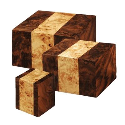 Bordeaux Wood Cremation Urns
