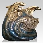 Bottlenose Bronze Cremation Urn