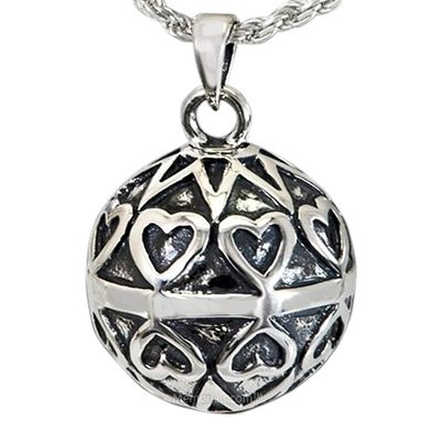 Bright Heart Cremation Pendant III