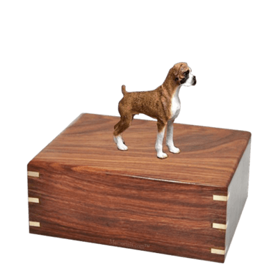 Brindle Boxer Medium Doggy Urn