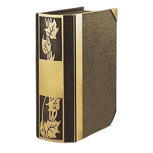 Ivy Book Bronze Cremation Urn