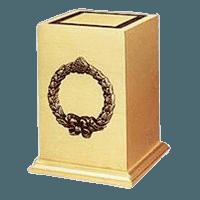 Victory Wreath Bronze Cremation Urns