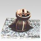 Bronze Vase with Granite