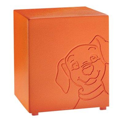 Buddy Orange Dog Urn