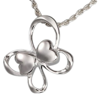 Butterfly Hearts Cremation Pendant III