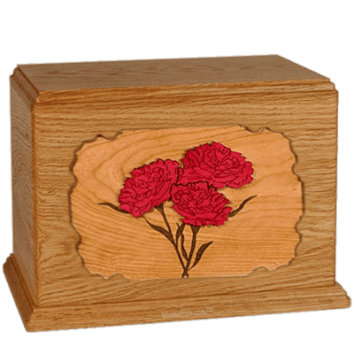 Carnation Mahogany Companion Urn