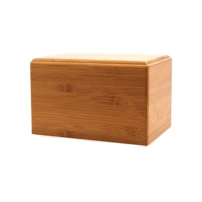 Bamboo Eternity Extra Small Wood Urn