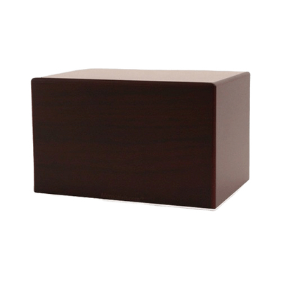 Cherry Eternity Small Wood Urn