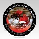 Coral Cremation Ash Pet Tree