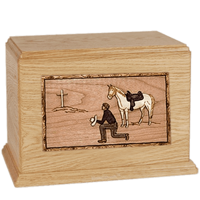 Cowboy Maple Companion Urn